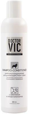 Шампунь для собак Doctor VIC с кератином 250мл