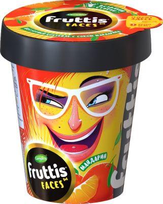 Коктейль йогуртный Fruttis Мандарин 2.5% 265г