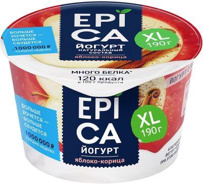 Йогурт Epica Яблоко-корица 4.8% 190г