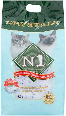 Наполнитель для кошачьего туалета №1 Crystals  12.5л
