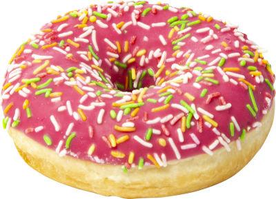 Пончик Donut со вкусом клубники 68г