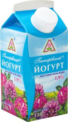 Йогурт Пискаревский 1.9% 330г